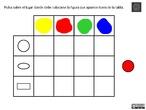 Doble entrada 1: colores y colores y formas planas