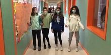 Mireya, Carla, Ainara y Michelle!!