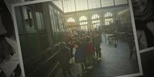 2º de Primaria en el Museo del Ferrocarril