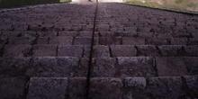 Escalinata oeste de El Castillo, Chichén Itzá, México