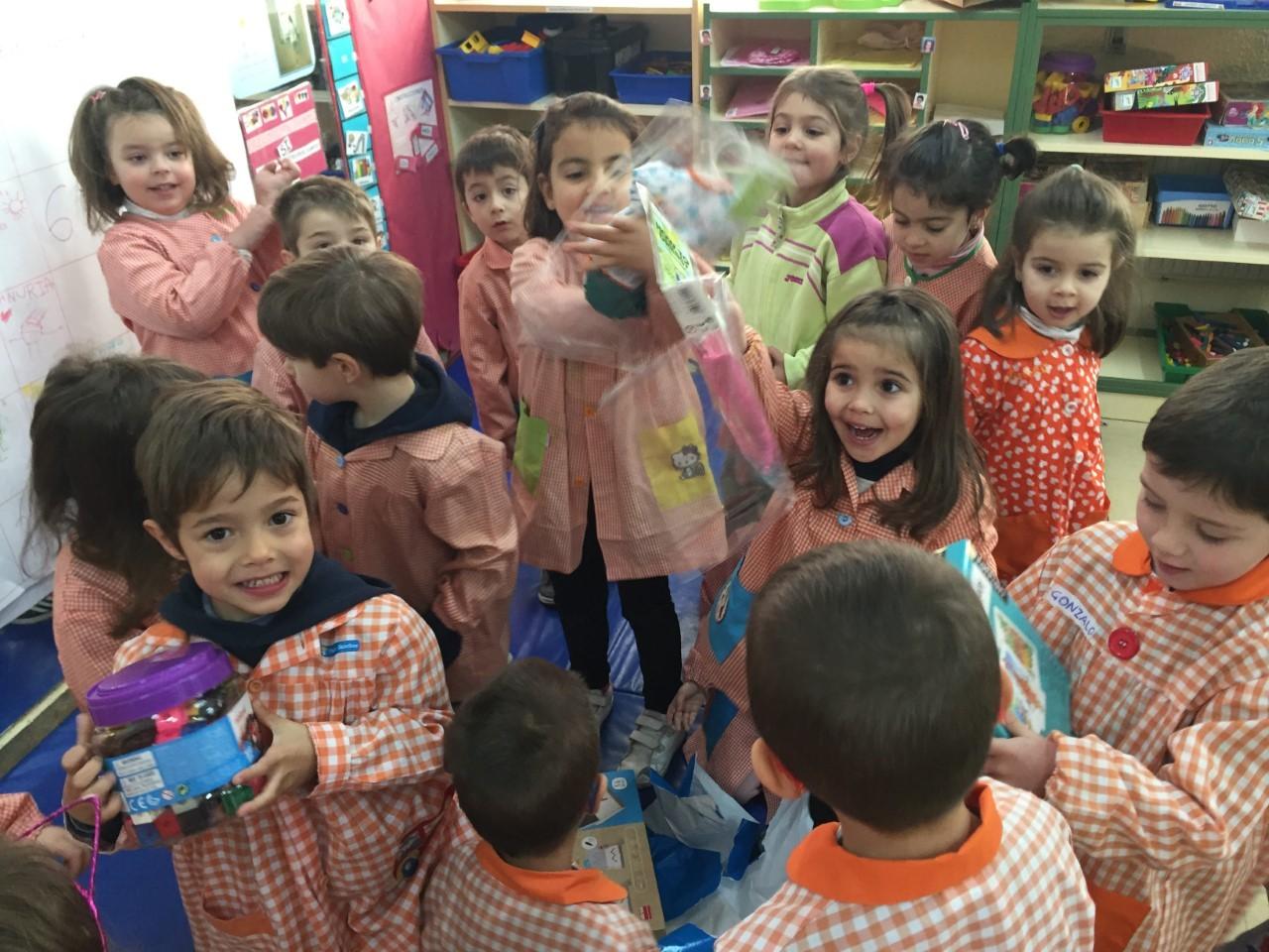 Visita Reyes aula 8