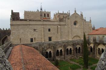 Claustro de la Catedral de Tuy, Pontevedra, Galicia