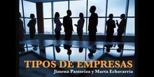 SECUNDARIA 4º - TIPO DE EMPRESAS - ECONOMÍA - JIMENA Y MARTA