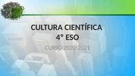 PRESENTACIÓN CULTURA CIENTÍFICA DE 4º ESO