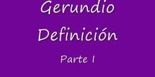 gerundio I