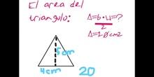 PRIMARIA - 5º - ÁREA POLÍGONOS REGULARES - MATEMÁTICAS - FORMACIÓN