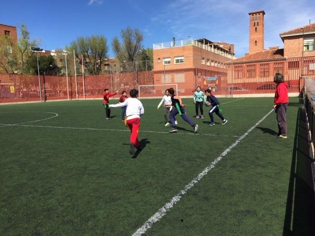 MAÑANAS ACTIVAS. Polideportivo San Vicente de Paul 1. Boxeo, Rugby, Padel y Hockey 35