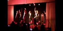 Recepción Eramus+ Encuentro en España - Baile alumnas 1º Bto