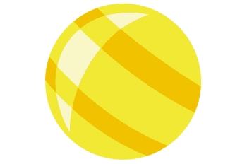 Pelota amarilla