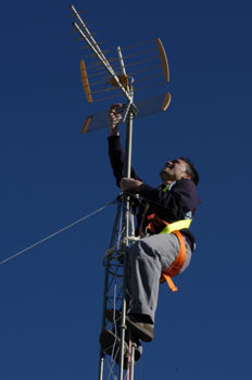 Orientación antena