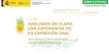 Hablemos Claro. Una experiencia TIC en Expresión Oral.