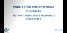 """Competencias digitales """"Filtros parentales y seguridad en la red"""" 3"""
