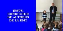 NOS VISITA JESÚS, CONDUCTOR DE AUTOBÚS