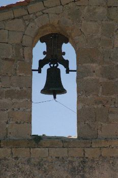 Campana, Ermita de San Frutos, Hoces del Duratón, Segovia, Casti