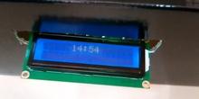 Reloj binario con LCD