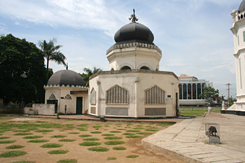 Lavatorio, Mezquita Al Mashun, Medan, Sumatra, Indonesia