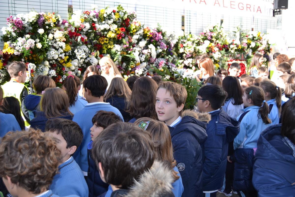 Ofrenda floral a Nuestra Señora de la Almudena 2017 1