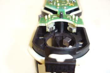 Elevalunas electrónico. Detalle de sensores de movimiento