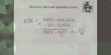 Cómo pasar a fracción números decimales