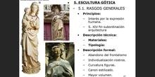 5. Escultura gótica