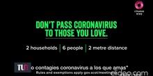 Campaña coronavirus Escocia