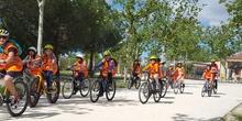 Salida en bicicleta a Polvoranca
