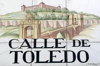 Indicativo de calle, Calle de Toledo, Madrid