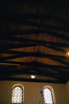 Cubierta de la Iglesia de Santa María de Bendones, Oviedo, Princ