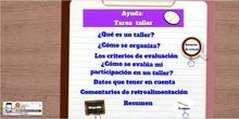 Ayuda: taller de coevaluación en el Aula Virtual