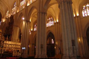 Columnas de la Catedral de Toledo, Castilla-La Mancha