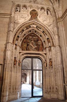 Acceso al claustro, Catedral de Segovia, Castilla y León