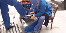 Limpiador de zapatos, Túnez