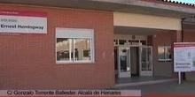 Inaugurado el colegio público Ernest Hemingway en Alcalá de Henares