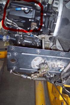 Aforador de combustible de un motor de reacción