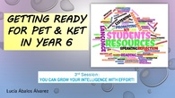 GROWTH MINDSET 3rd session PET&KET teacher training course