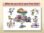 SPORTS FREE TIME ACTIVITIES