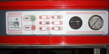 Compresor de aire. Detalle cuadro de mandos