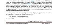 Mercadillo solidario 2019_CEIP Fernando de los Ríos_Las Rozas