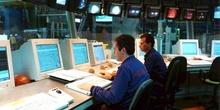 Sala de control de la línea de Galvanizado de una planta siderúr