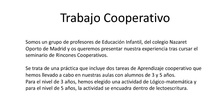 Cooperativo Rincones Nazaret Oporto