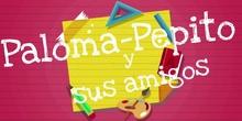 Paloma - Pepito y sus amigos. Haciendo maracas.