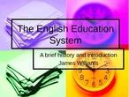 UK EDUCATIONAL SYSTEM