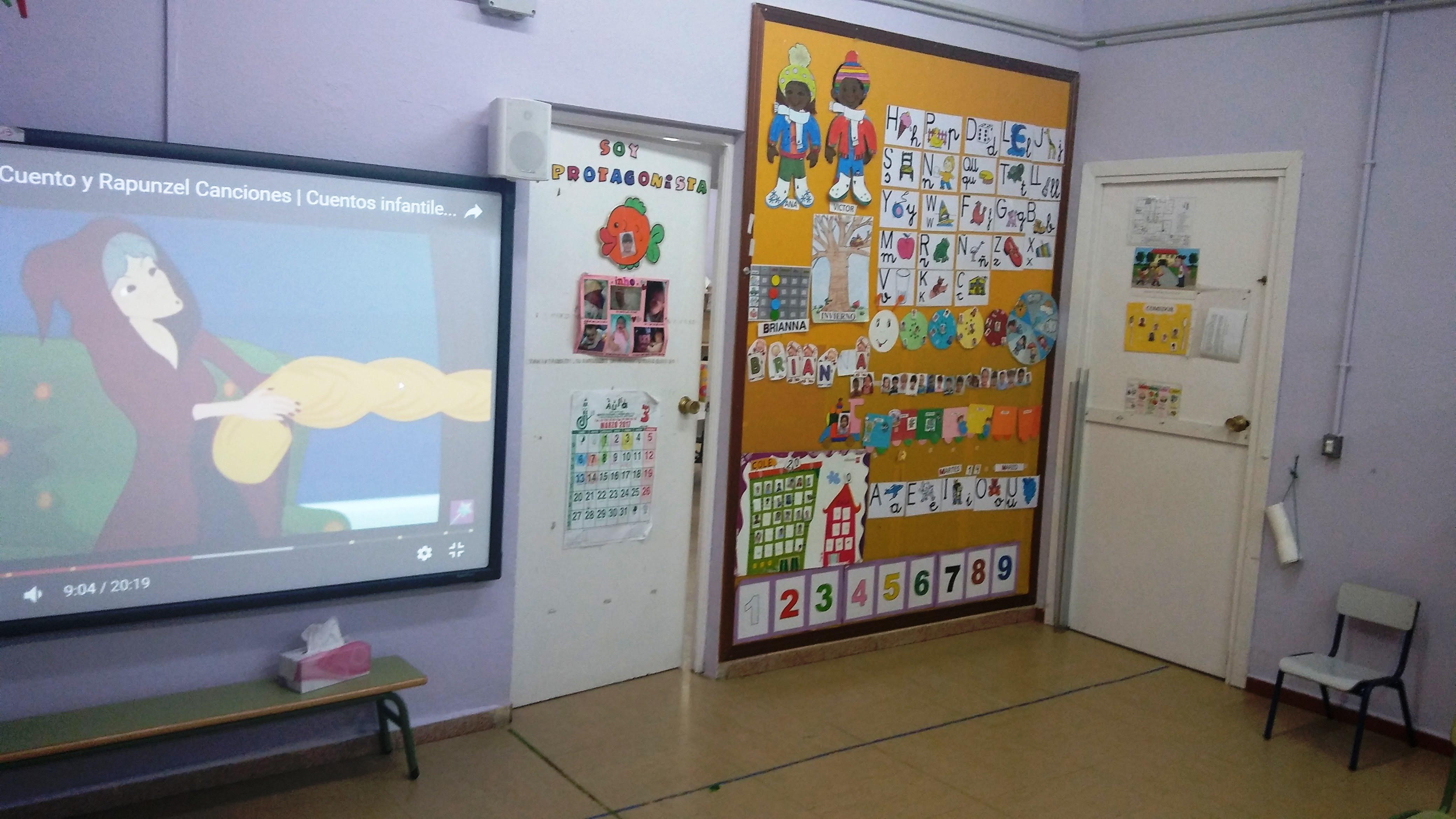 Aulas de Infantil 10