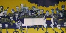 Alrededores del Estadio Boca Juniors, Buenos Aires, Argentina