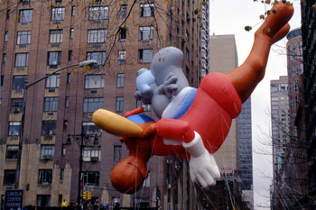 Día de Acción de Gracias, Nueva York, Estados Unidos