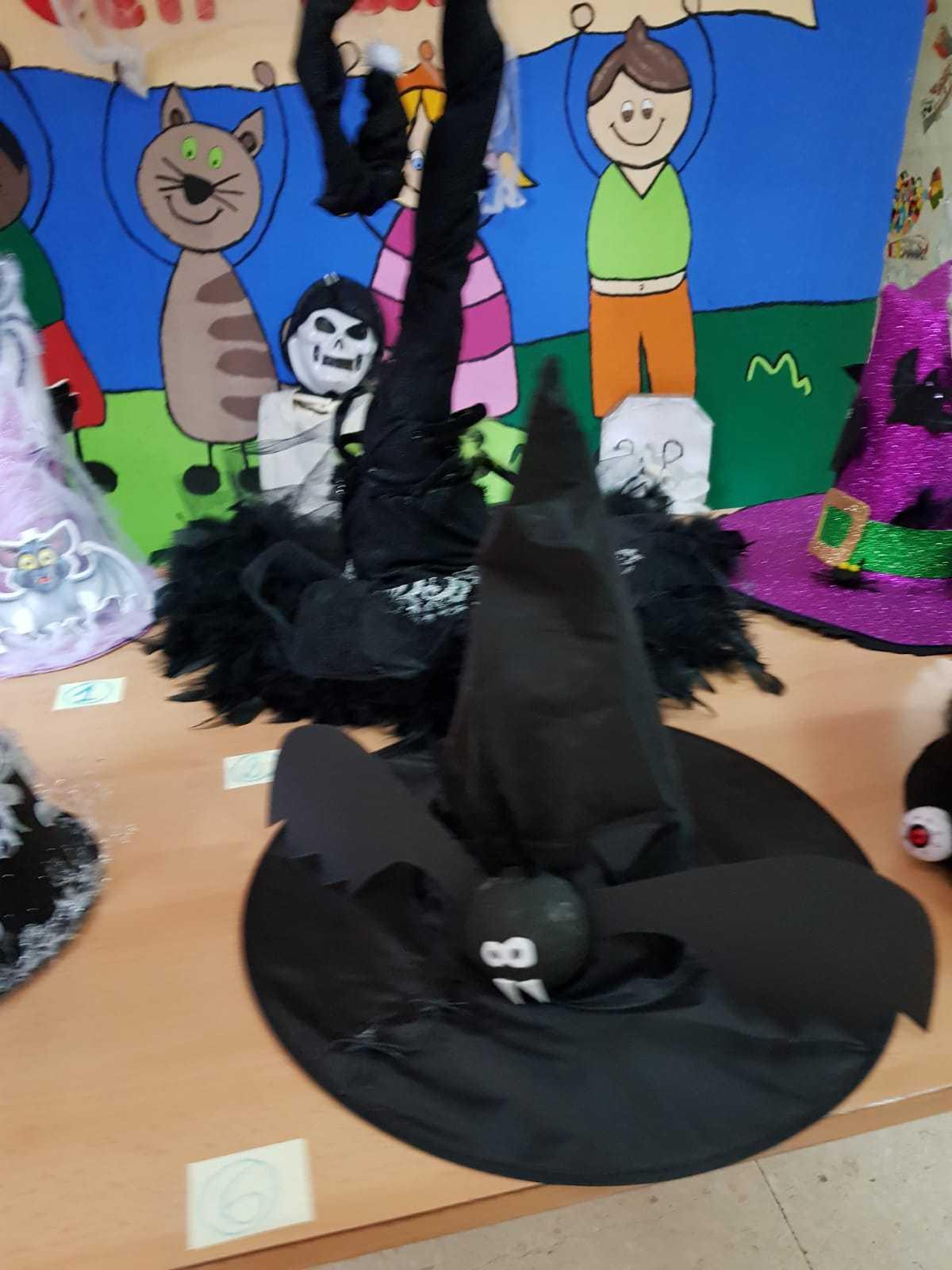 Curso decoración sombreros de bruja 2