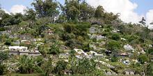 Cementerio chino, Jogyakarta, Indonesia