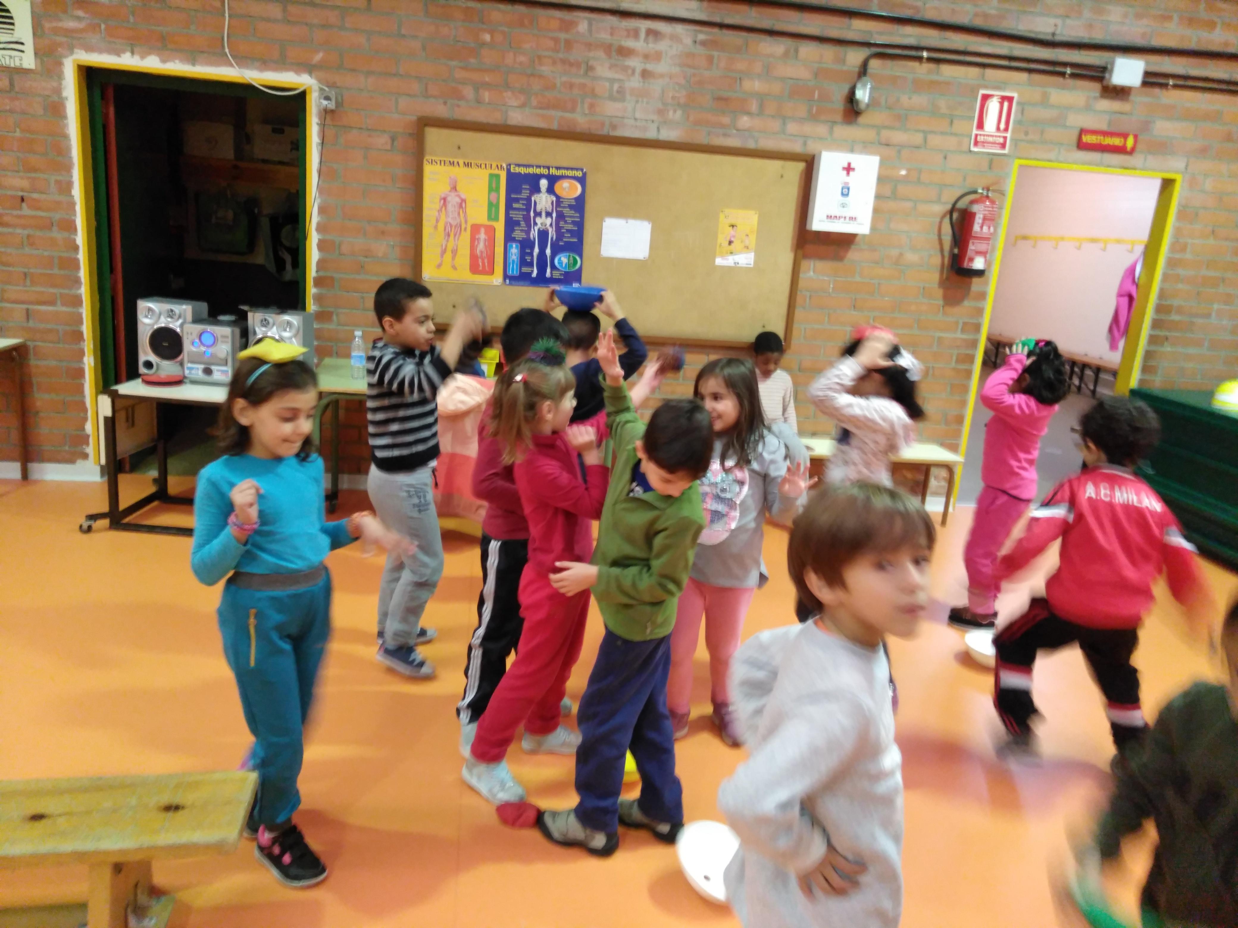 Convivencia en Educación física 3