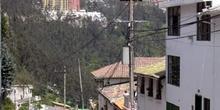 Barrio de Guápulo en Quito, Ecuador