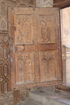 Puerta de madera, Catedral de León, Castilla y León